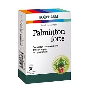 Палминтон Форте за простатата х30 капсули