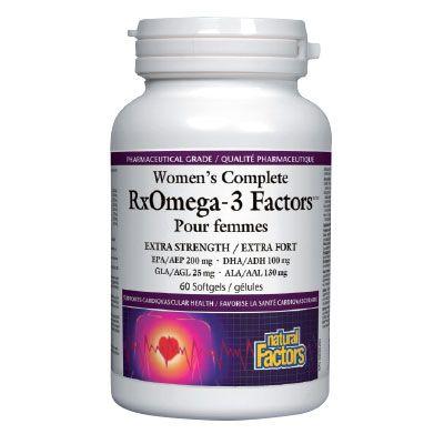 Natural Factors RX Omega 3 Омега фактор за жени 1035мг х60 капсули