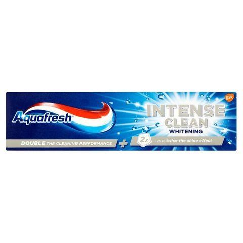 AquaFresh Intense Clean Whitening Избелваща паста за зъби х75 мл