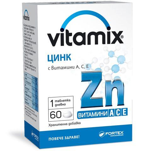 Fortex Витамикс Цинк х60 таблетки