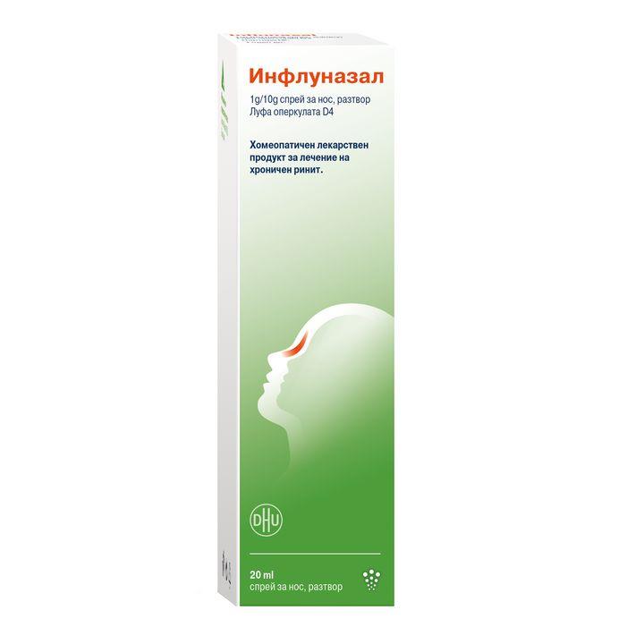 Инфлуназал Хомеопатичен спрей за нос x20мл