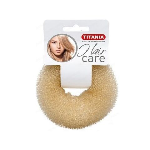 Titania Hair Care Гъба за кок, цвят Бяла х1 брой