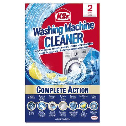 K2r Cleaner Препарат за почистване на перални машини 2 сашета x75 грама