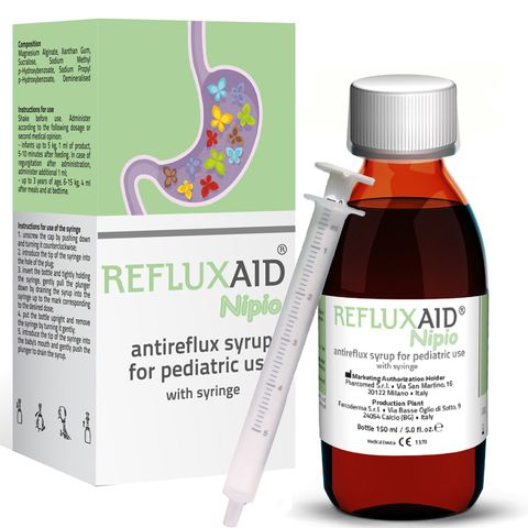 Refluxaid Nipio Aнтирефлуксен сироп за деца от 0 до 3 години х150 мл
