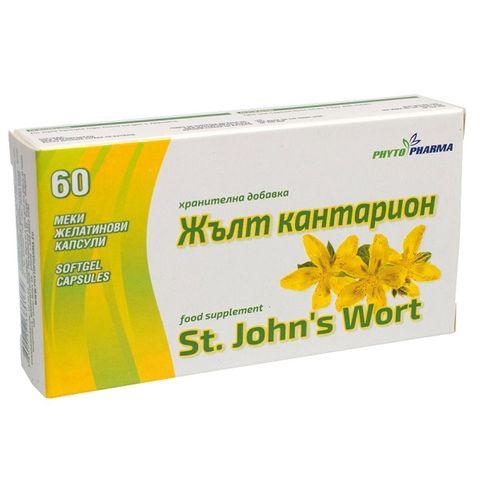 Phytopharma Жълт кантарион за нервната система х60 капсули