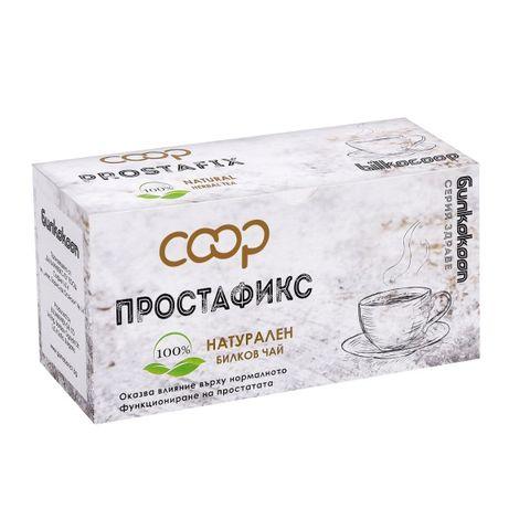 Coop Натурален билков чай Простафикс х20 филтърни пакетчета