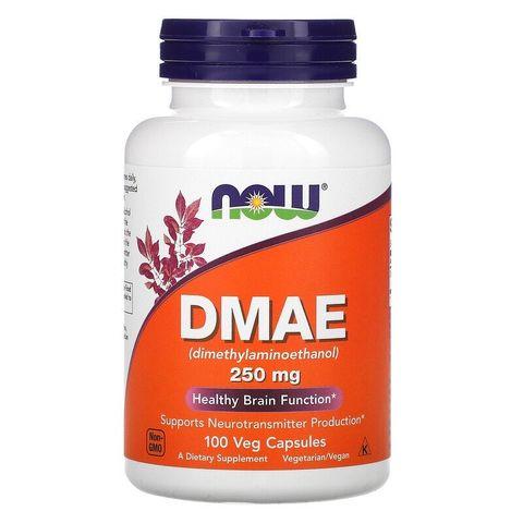 Now Foods DMAE За фокуса и концентрацията 250 мг х100 капсули