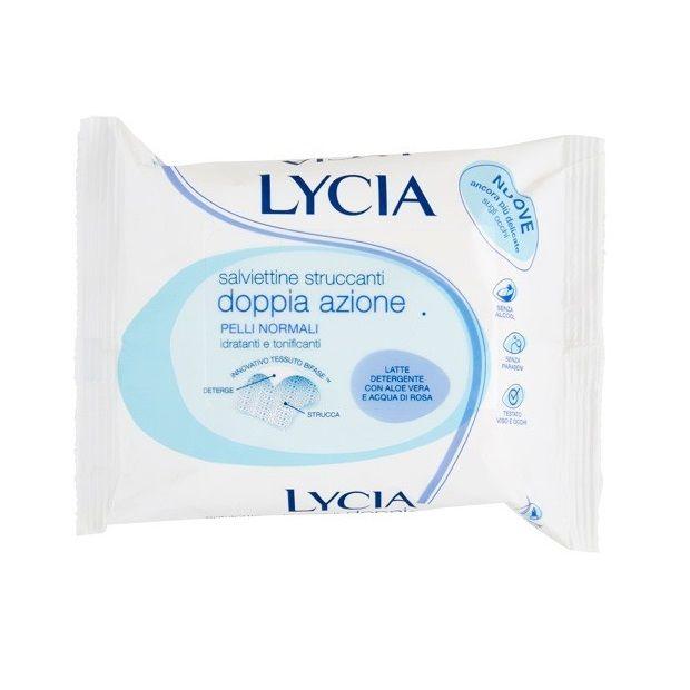 Lycia Мокри кърпи за лице и очи за нормална кожа х20 броя