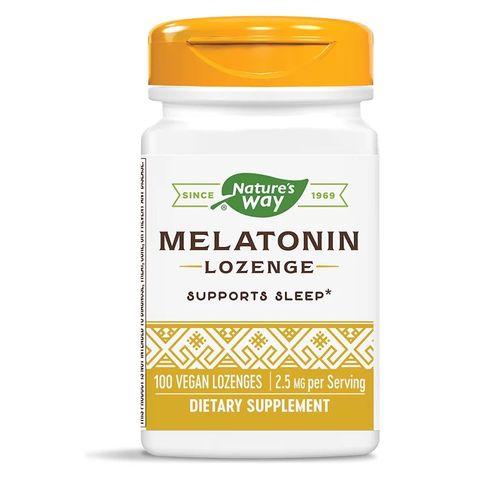 Melatonin Lozenge Мелатонин за пълноценен сън 2,5мг х100 таблетки Nature's Way