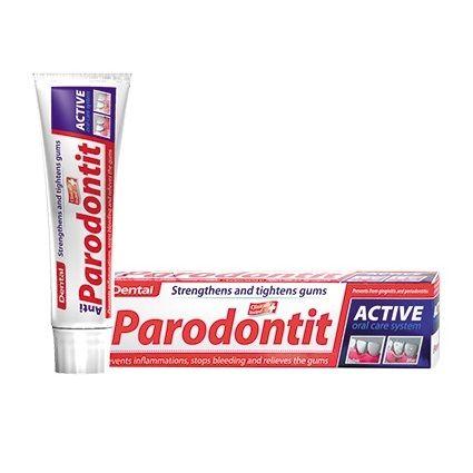 Dental Anti-Parodontit Профилактична паста за зъби със стягащ и успокояващ венците ефект х100 мл
