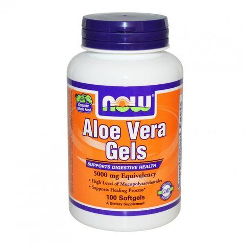 Now Foods Aloe Vera 5000 мг х100 дражета