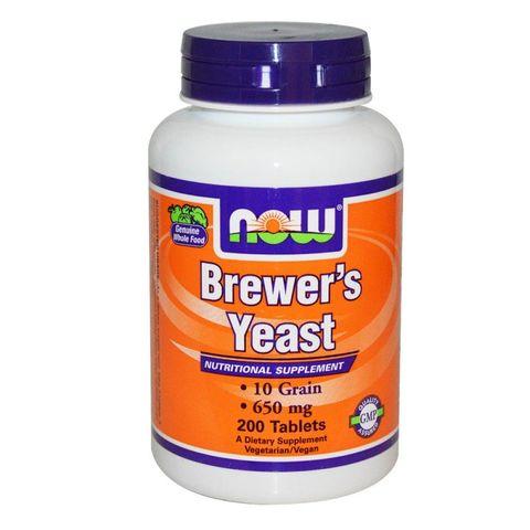 Now Foods Brewers Yeast 650 мг х200 таблетки