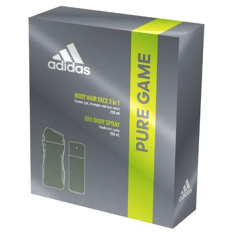 Adidas Pure Game Промо комплект за мъже Душ гел и Дезодорант спрей