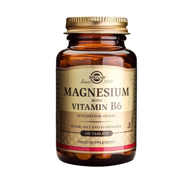 Solgar Магнезий и Витамин В6 x100 таблетки