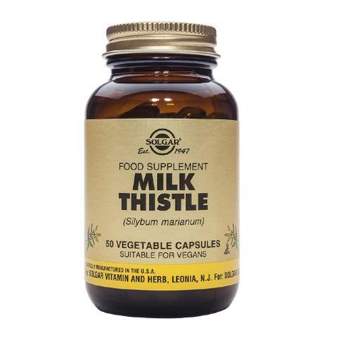 Solgar Екстракт от семена на Млечен бодил при чернодробни проблеми х50 капсули