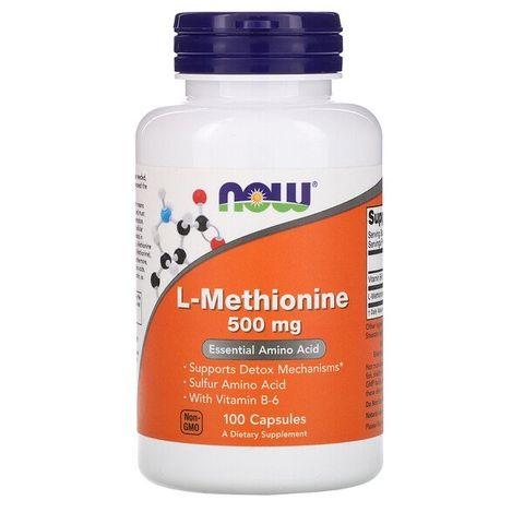 Now Foods Л-метионин 500 мг х100 капсули