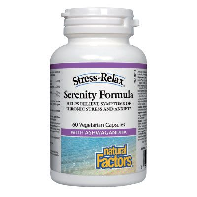 Natural Factors Serenity Formula Антистрес формула х60 капсули