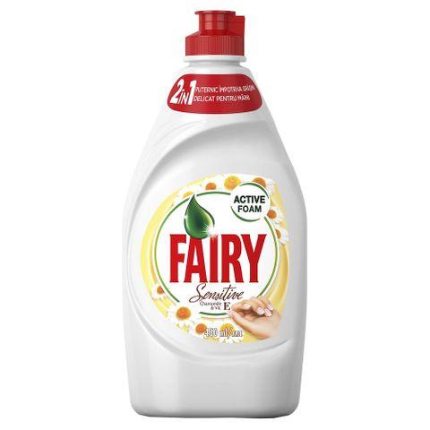 Fairy Sensitive Препарат за съдове с лайка и витамин Е х450 мл