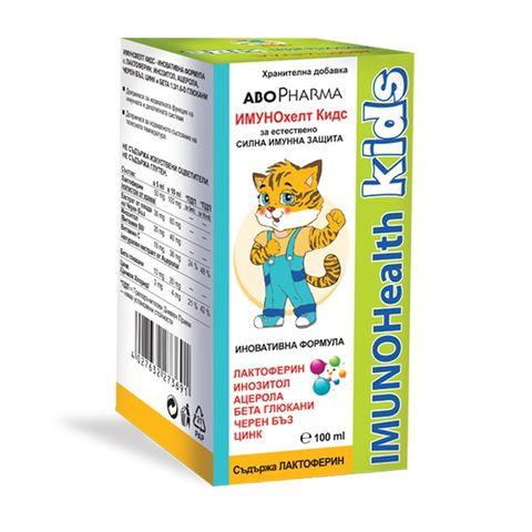 ImunoHealth Kids Сироп за имунната и дихателната система х100 мл Abopharma