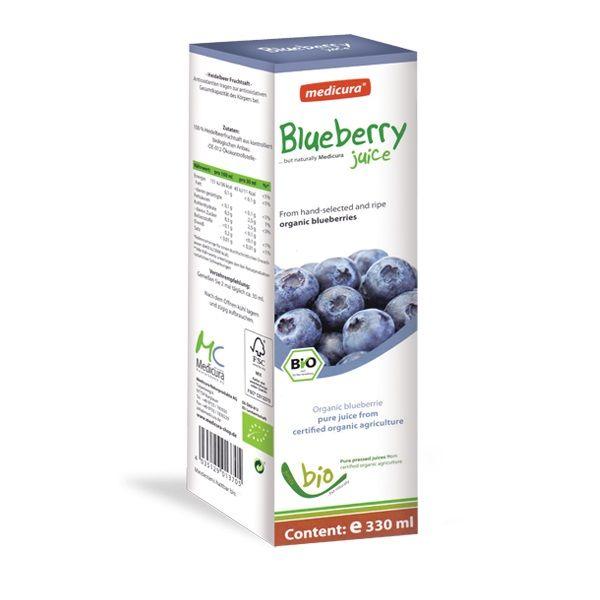 Abopharma Био сок от синя боровинка за добро зрение х330 мл