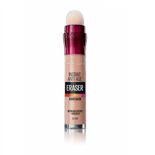 Maybelline Eraser Коректор за лице с анти-ейдж ефект, 03 Fair