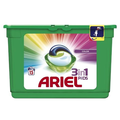 Ariel Color Капсули за цветно пране 28,8 грама
