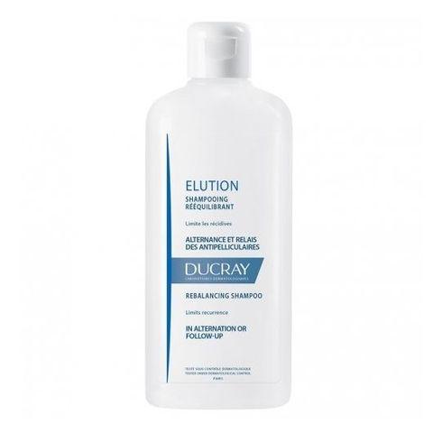 Ducray Elution Ребалансиращ шампоан за редуваща или последваща грижа за третиране на пърхот х400 мл