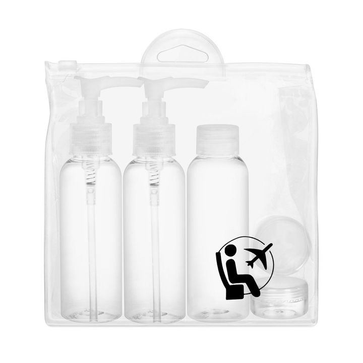 Inter-Vion Travel Cosmetic Container Kit Несесер за пътуване от 6 части - 111210