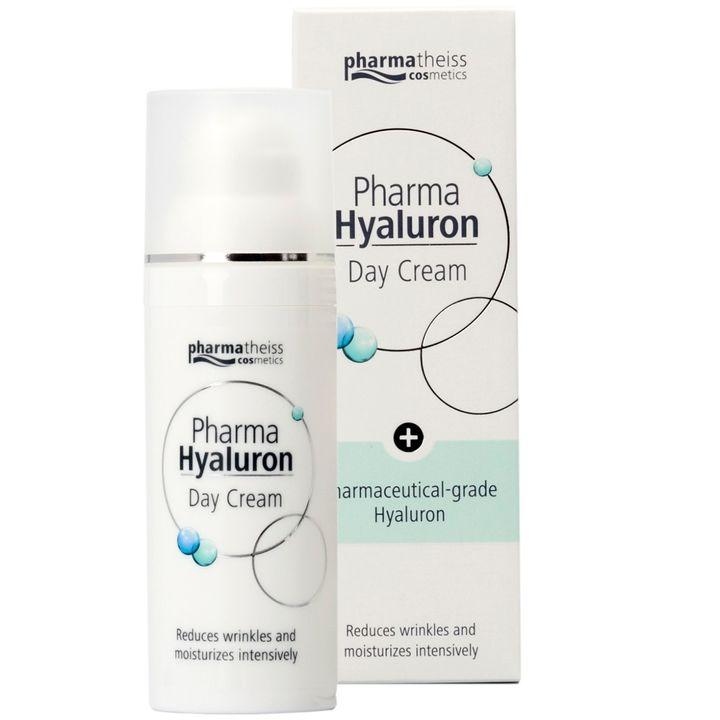 Pharma Hyaluron Регенерериращ дневен крем против бръчки за лице с хиалурон x50 мл