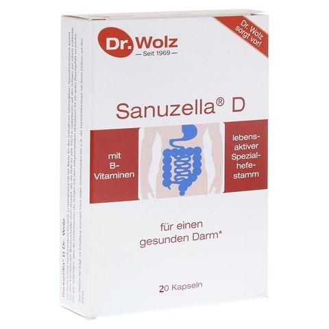 Dr. Wolz Sanuzella D За добро храносмилане х20 капсули