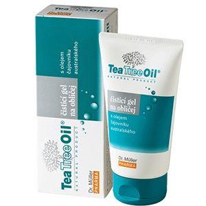 Tea Tree Oil Измиващ гел за лице с масло от австралийско чаено дърво за мазна кожа x150 мл