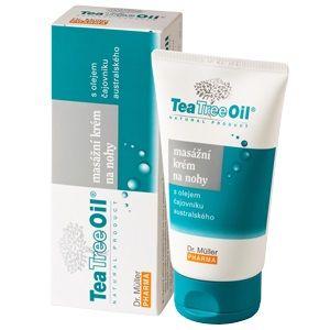 Tea Tree Oil Масажен крем за крака с масло от чаено дърво x150 мл