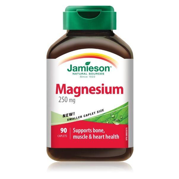 Jamieson Магнезий 250мг х90 таблетки