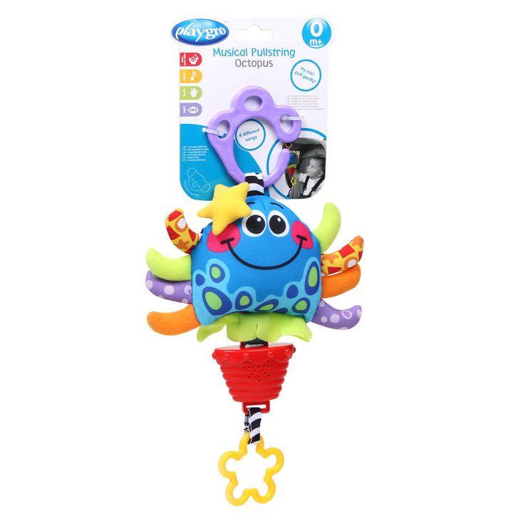 Playgro Музикална играчка Октопод за деца над 0 месеца - 0426