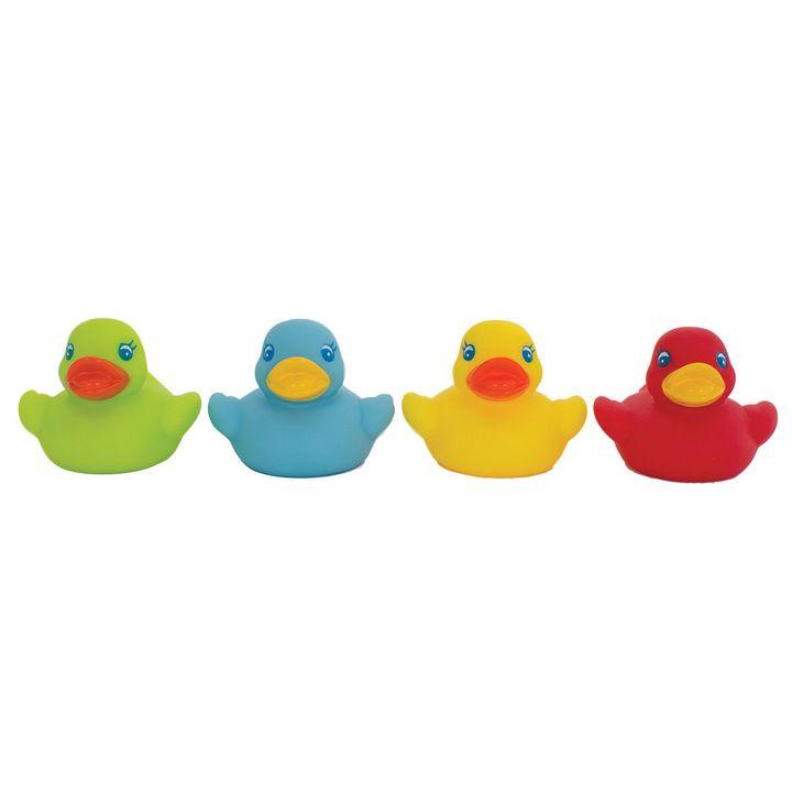 Playgro Цветни патета за баня x4 броя - 0524
