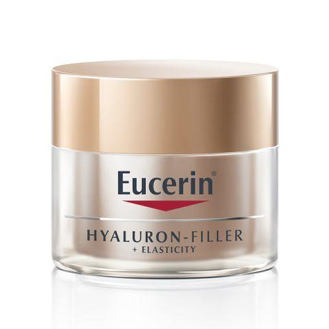 Eucerin Hyaluron-Filler + Elasticity Богат нощен крем за лице за зряла кожа x50 мл