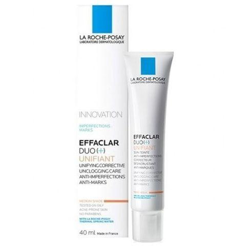 La Roche-Posay Effaclar Duo+ Unifiant Коригиращ оцветен крем за проблемна кожа, Среден нюанс