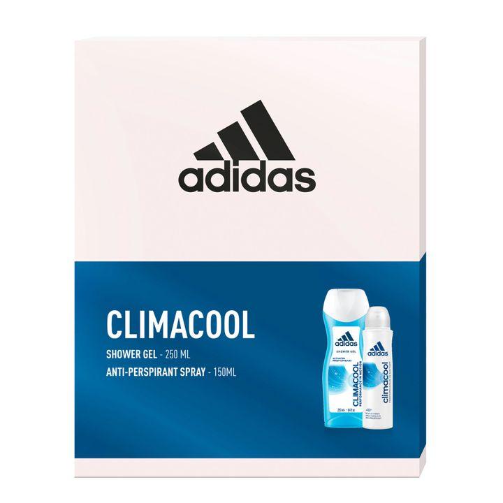 Adidas Climacool Промо комплект Освежаващ душ гел за жени и Дезодорант спрей за жени