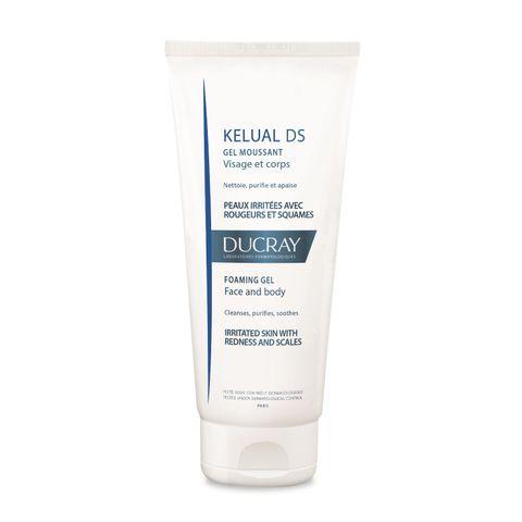 Ducray Kelual DS Почистващ пенещ се гел за лице и тяло x200 мл