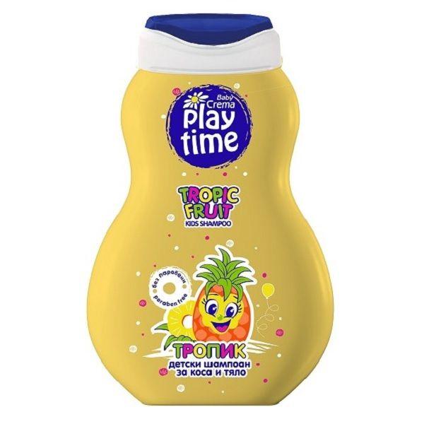 Baby Crema Play Time Детски шампоан за коса и тяло Тропик x250 мл