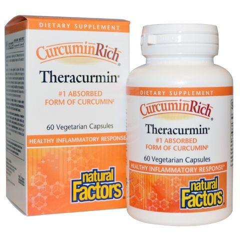 CurcuminRich Theracurmin Екстракт от куркума x60 капсули - Natural Factors