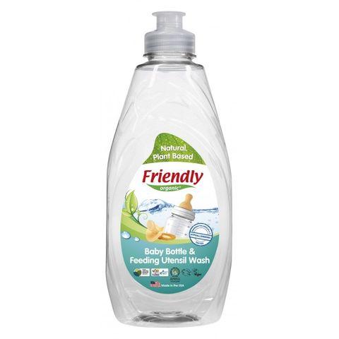 Препарат за почистване на бебешки шишета и съдове x414мл