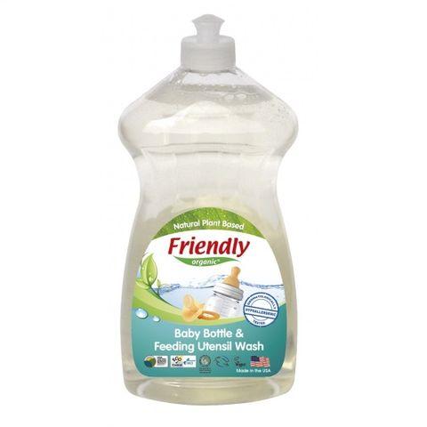 Препарат за почистване на бебешки шишета и съдове x739мл