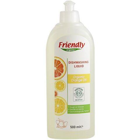 Френдли препарат за измиване на съдове с портокалово масло x500мл