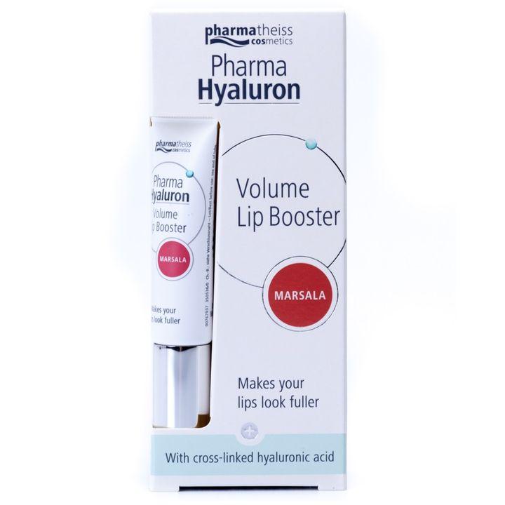 Pharma Hyaluron Обемен филър за устни, цвят Марсала x7 мл