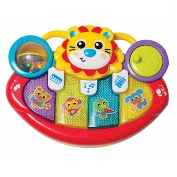 Playgro Активна играчка Пиано за деца над 6 месеца - 0702