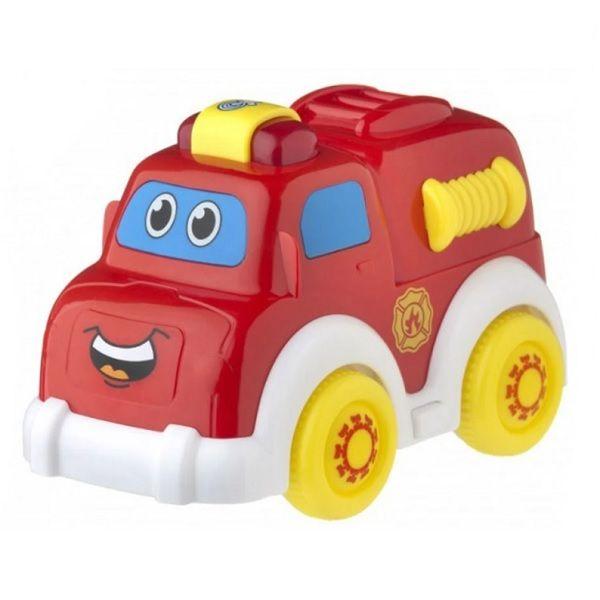 Playgro Активна играчка със светлина и звуци Пожарна кола за деца над 12 месеца - 0707