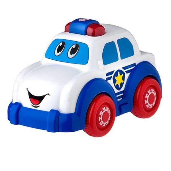 Playgro Активна играчка със светлина и звуци Полицейска кола за деца над 12 месеца - 0708
