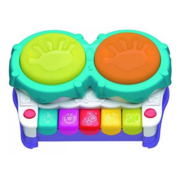 Playgro Музикална играчка 2в1 Пиано за деца над 12 месеца - 0709