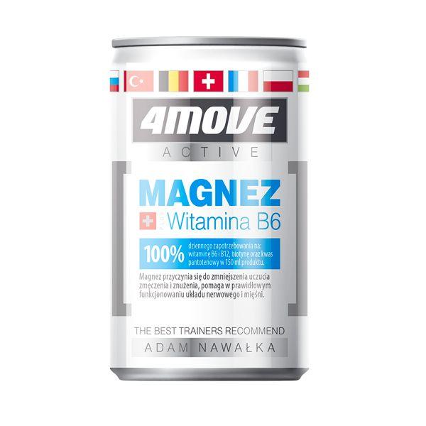 4Move Shot Изотонична напитка с магнезий и витамин В6 х150 мл
